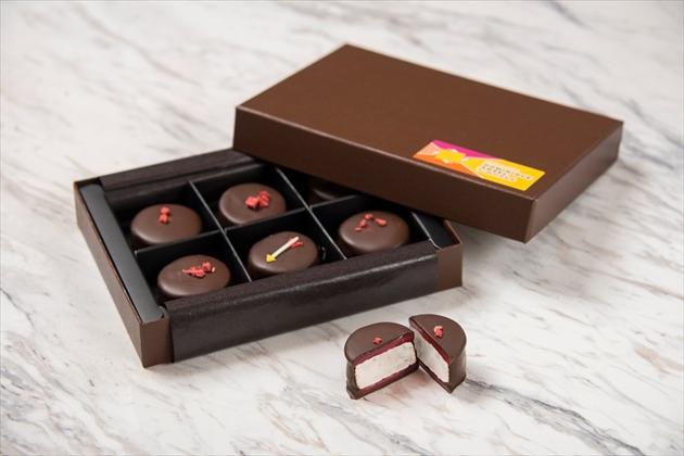 ストロベリー チョコレート マシュマロ