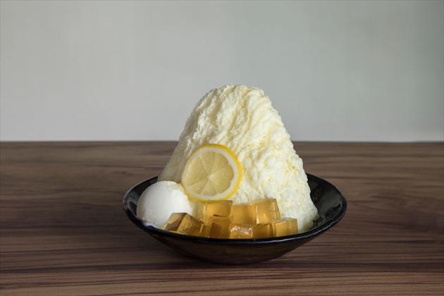 ハニーミルクかき氷②