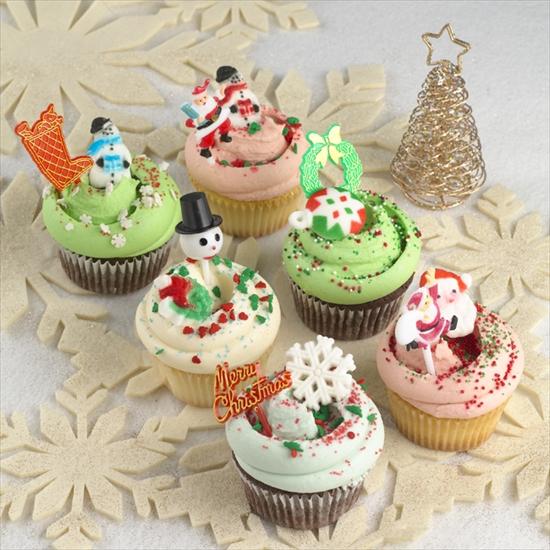 Christmas Cupcakes-550