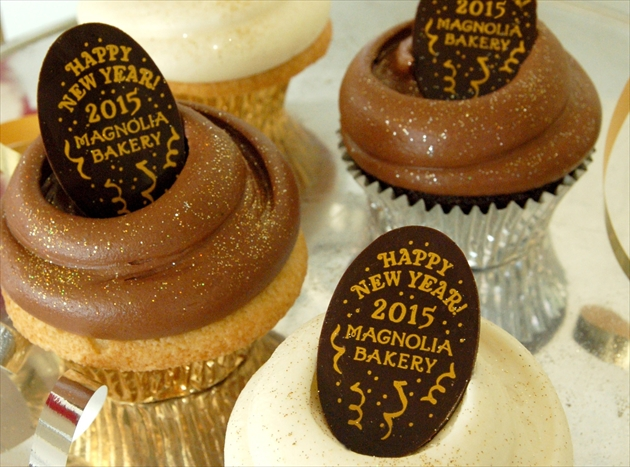 New Year's Cupcakes 2015-2