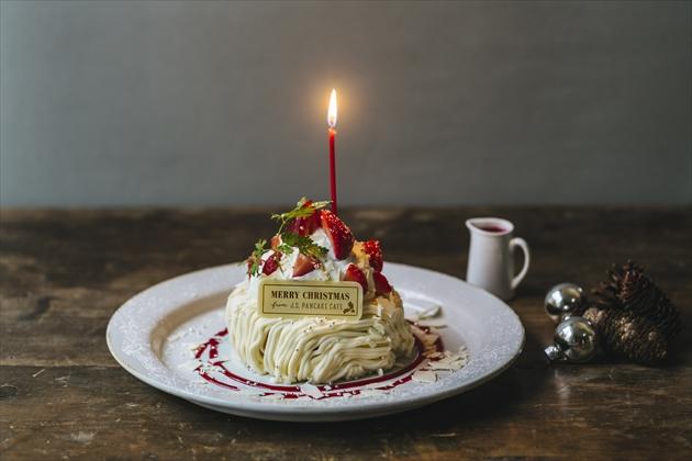 pancake_ベリーチーズクリスマスパンケーキ