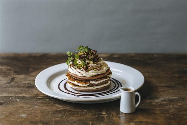 pancake_木の実とマスカルポーネパンケーキ